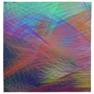 Extracto azul del color de la majestad de la monta servilletas