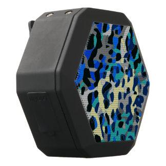 Extracto azul del guepardo del negro de la altavoces bluetooth negros boombot REX