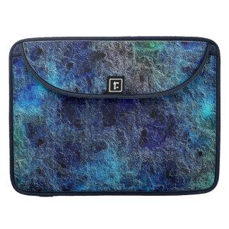 Extracto azul del tono rico fresco colorido de la fundas para macbooks