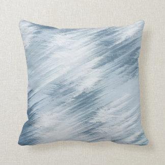 Extracto azul eléctrico almohada