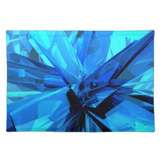 Extracto azul mantel individual