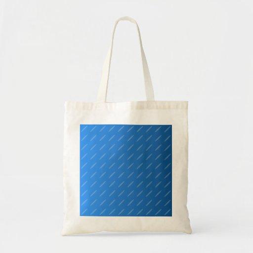 Extracto azul moderno. Modelo fino de los óvalos Bolsa Tela Barata