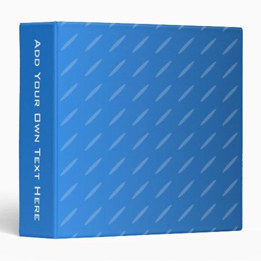 """Extracto azul moderno. Modelo fino de los óvalos Carpeta 1 1/2"""""""