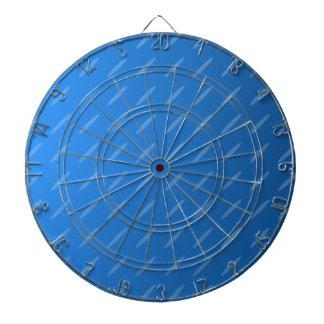 Extracto azul moderno Modelo fino de los óvalos Tabla Dardos