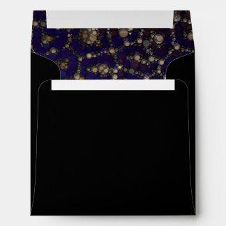Extracto azul negro del guepardo del oro sobre
