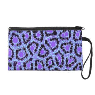 Extracto azul púrpura del círculo del guepardo