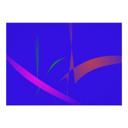 Extracto azul simple con la reducción radical de c comunicado personalizado