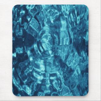 Extracto azul alfombrillas de raton