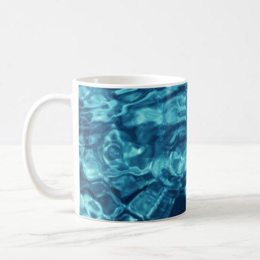 Extracto azul taza clásica