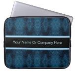 Extracto azul y negro bonito manga computadora