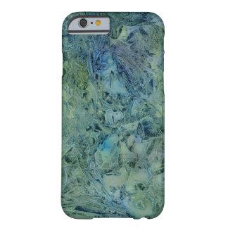 Extracto azulverde ideal del trueno funda de iPhone 6 barely there
