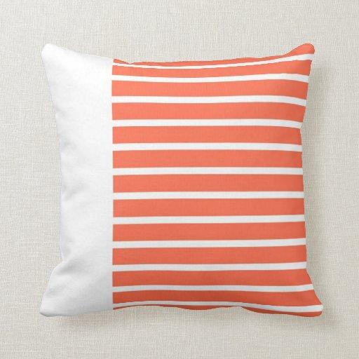 Extracto blanco, rosado del diseño del arte de las almohada