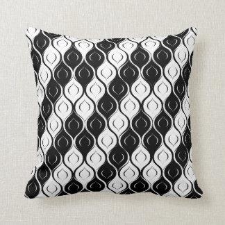 Extracto blanco y negro almohada