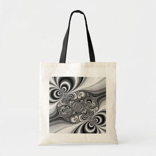 Extracto blanco y negro con los círculos bolsas