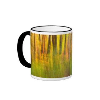 Extracto bonito de Autum Tazas De Café