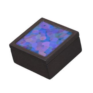 Extracto bonito en azul, púrpura, y verde cajas de regalo de calidad
