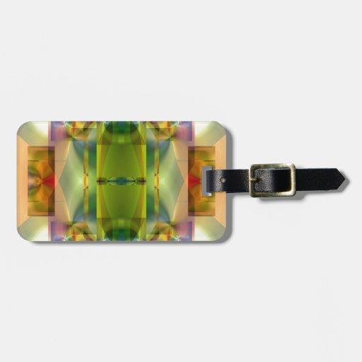Extracto brillante del color del santuario 5 del a etiqueta para maleta