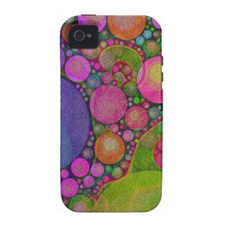 Extracto brillante del color fluorescente iPhone 4 carcasas