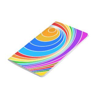 Extracto brillante del vórtice espiral cuadernos