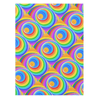 Extracto brillante del vórtice espiral mantel