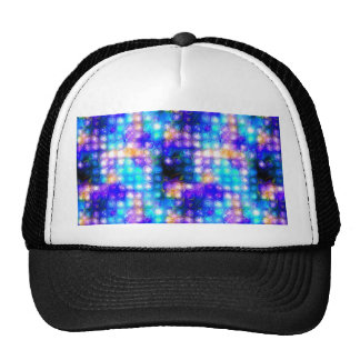 Extracto caprichoso colorido azul gorras