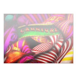 Extracto - carnaval invitacion personalizada