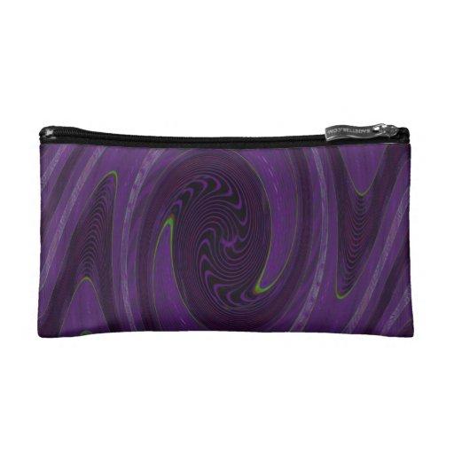 extracto circular negro púrpura