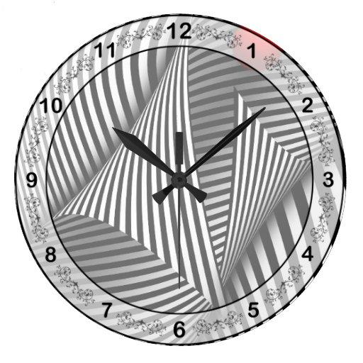 Extracto - coja la bola roja reloj redondo grande