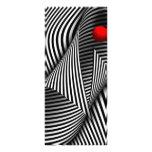 Extracto - coja la bola roja tarjeta publicitaria a todo color
