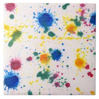 Extracto - color de Gesso y de comida - mi nueva a Azulejo Cerámica