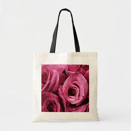 Extracto color de rosa bolsa tela barata