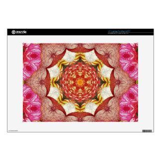 Extracto color de rosa rosado brillante portátil 38,1cm skins