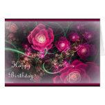 Extracto color de rosa rosado felicitacion