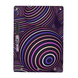 Extracto coloreado arco iris hipnótico de las pizarras