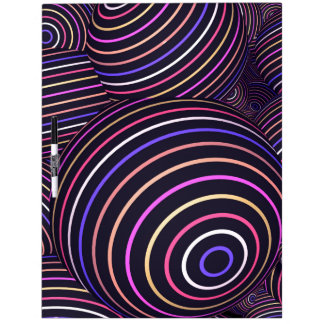 Extracto coloreado arco iris hipnótico de las pizarras blancas