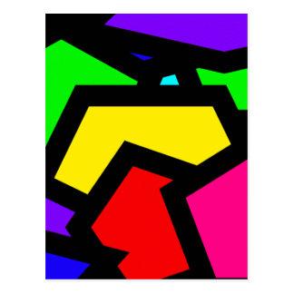 Extracto coloreado de Pentágono Postal