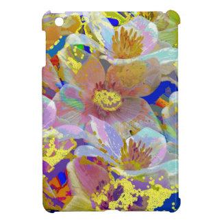 Extracto colorido de la anémona iPad mini cárcasa