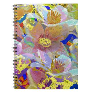 Extracto colorido de la anémona libreta