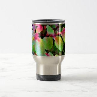 extracto colorido de la planta del snowbush taza de café