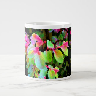 extracto colorido de la planta del snowbush tazas jumbo