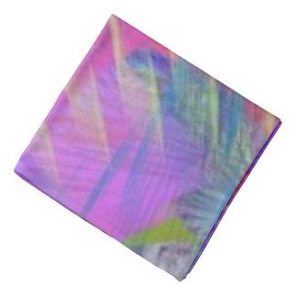 Extracto colorido de la súplica del encintado bandana