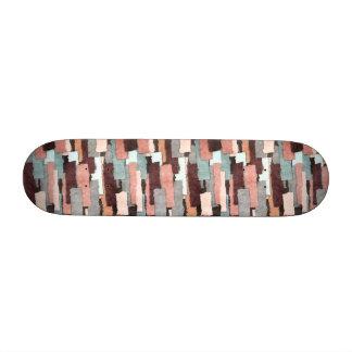 Extracto colorido de los remiendos patines