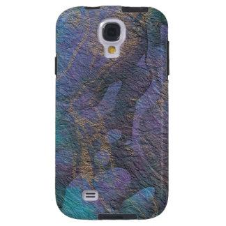 Extracto colorido de piedra pintado funda para galaxy s4