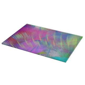 Extracto colorido del color de la súplica del tabla para cortar