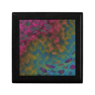 extracto colorido del giro cajas de recuerdo