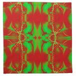 Extracto colorido del navidad servilletas