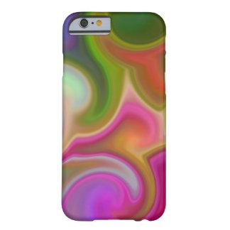 Extracto colorido del remolino funda de iPhone 6 slim