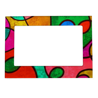 Extracto colorido marcos magneticos de fotos