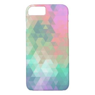 Extracto colorido moderno del mosaico funda iPhone 7