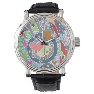 Extracto colorido original relojes